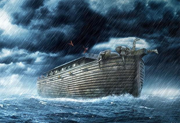 کشف بقایای کشتی نوح