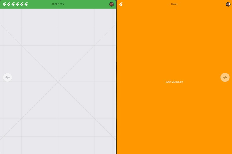 رابط کاربری سیستم عامل Fuchsia