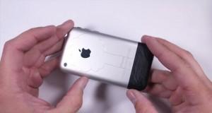 تست مقاومت 2007 iPhone در برابر خمیدگی، خراش و آتش