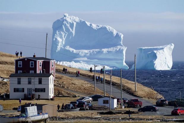 کوه یخ فریلند مهمان ناخوانده روستایی در کانادا