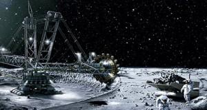 استخراج منابع معدنی کره ماه