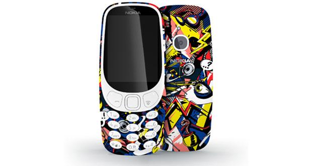 مسابقه طراحی بسته بندی گوشی نوکیا 3310 جدید