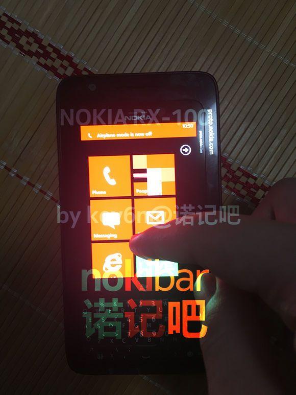 گوشی ویندوزی نوکیا RX-100
