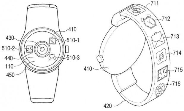 پتنت ساعت هوشمند دوربین دار سامسونگ
