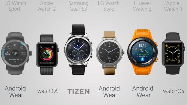 بهترین ساعت های هوشمند سال 2017