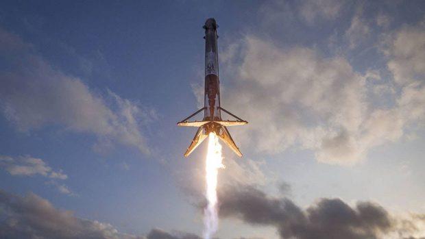 دوازدهمین راکت فالکون 9