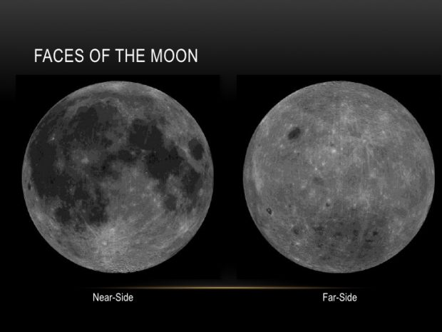 ویژگی های کره ماه