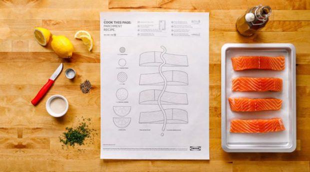 کتاب آشپزی شرکت IKEA