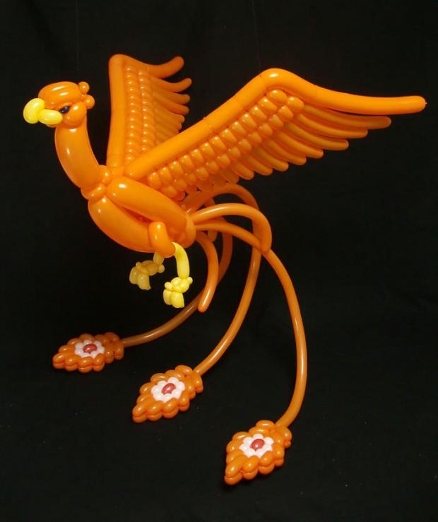 خلاقیت با بادکنک ؛ ساخت اشکال باورنکردنی از حیوانات بادکنکی توسط یک هنرمند ژاپنی