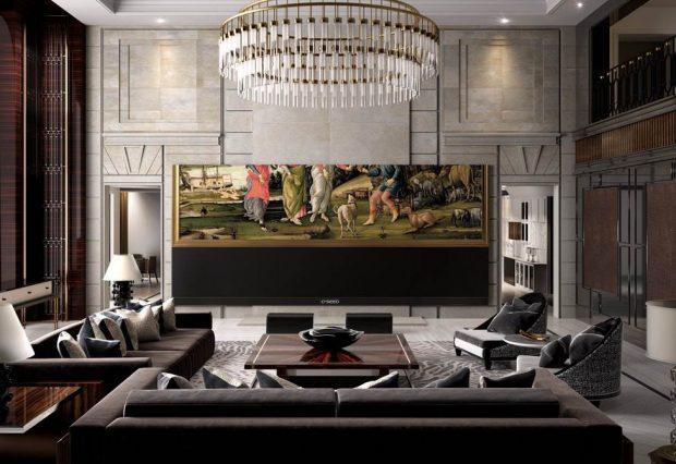 بزرگ ترین تلویزیون 4K جهان