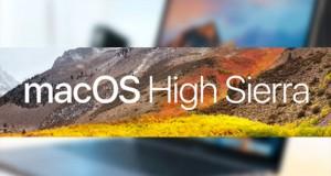 مک او اس High Sierra 10.13