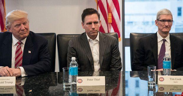 زیرساخت فناوری کاخ سفید