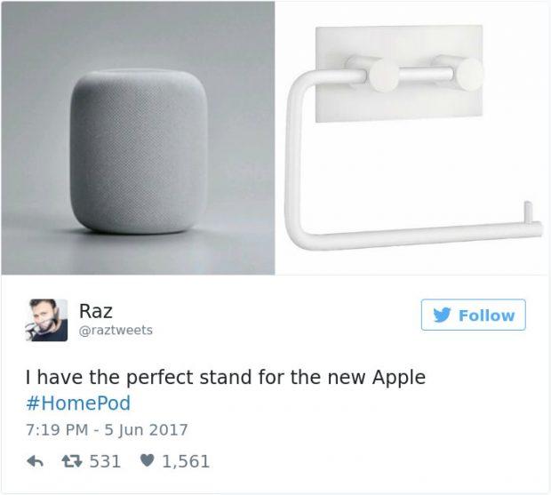 واکنش کاربران به طراحی اسپیکر هوم پاد اپل