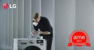 ویدیوی تبلیغاتی ماشین لباسشویی ال جی