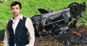 ریچارد هموند ستاره برنامه گرند تور، حین فیلمبرداری دچار سانحه رانندگی شد