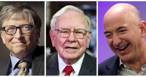 بیل گیتس همچنان در صدر فهرست ثروتمندترین افراد جهان در سال 2017