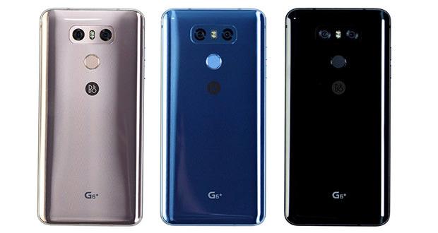گوشی موبایل ال جی جی 6 پلاس