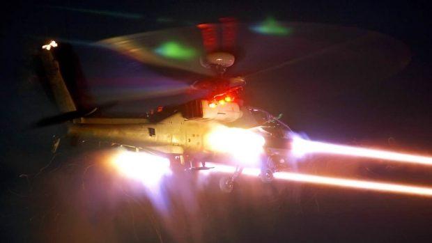 توپ لیزری هلیکوپتری