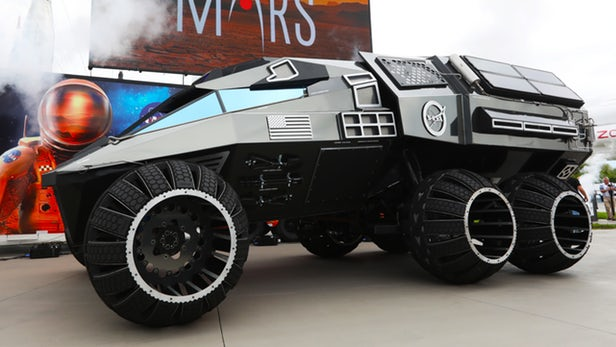 مریخ نورد مفهومی ناسا