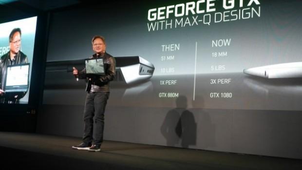 طراحی Max-Q انویدیا برای لپ تاپ های گیمینگ باریک