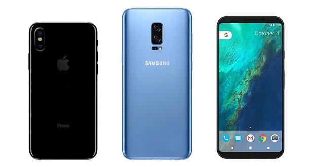 گوشی های نیمه دوم سال 2017