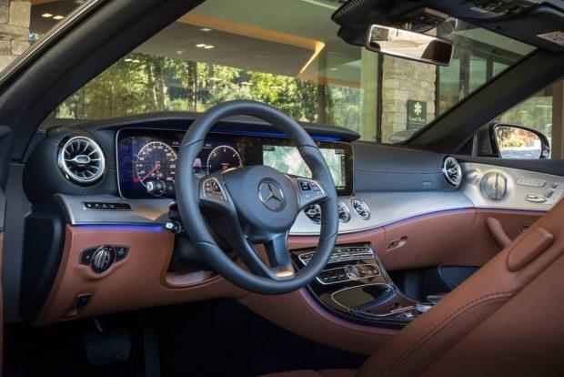 تجربه رانندگی با مرسدس E کلاس کابریولت 2017