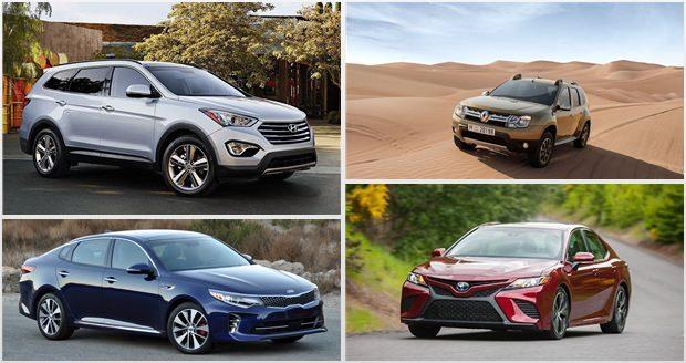 محبوب ترین خودروسازان خارجی