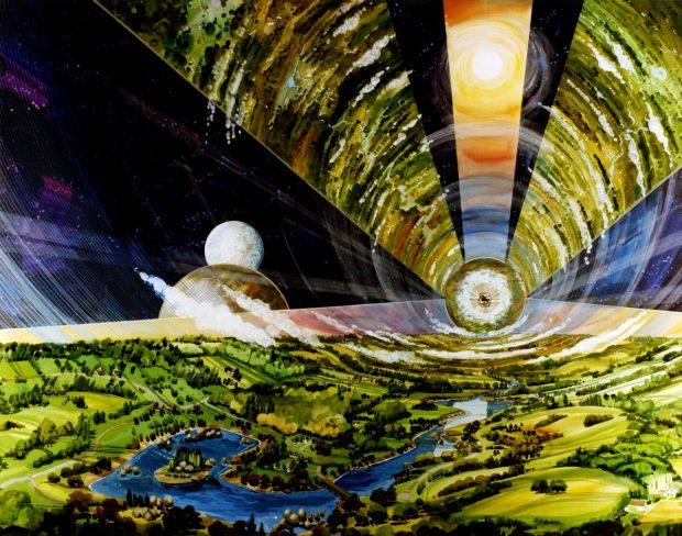 شهر فضایی شناور