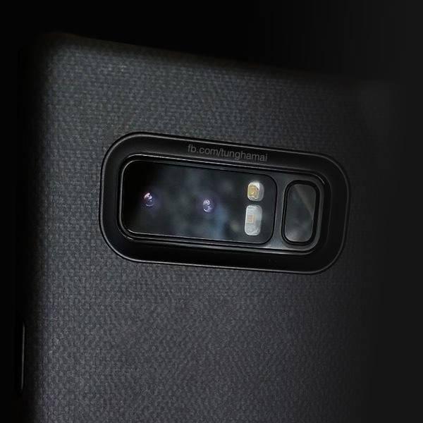 رندر جدید Galaxy Note 8
