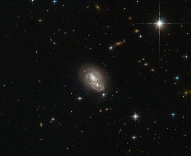 کهکشان مخفی در نزدیکی راه شیری