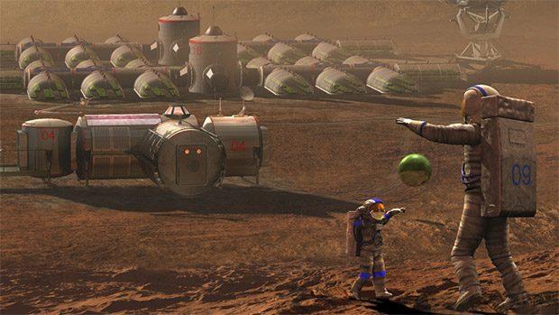 برده داری کودکان در مریخ