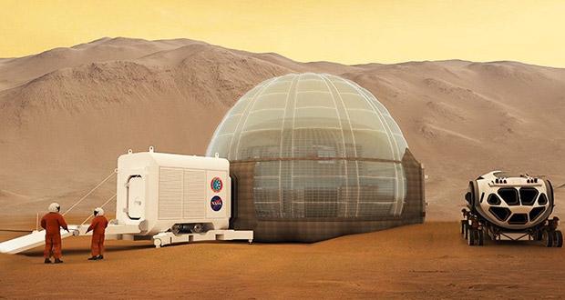 بردن انسان به مریخ