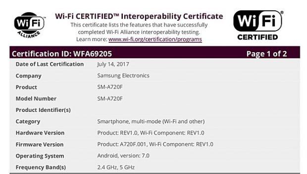 اندروید نوقا برای مدل 2017 گلکسی A5