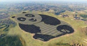 مزرعه خورشیدی جدید چین