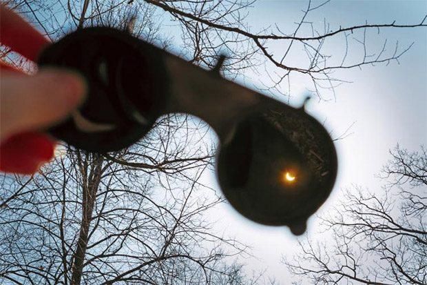 عکاسی از خورشید گرفتگی