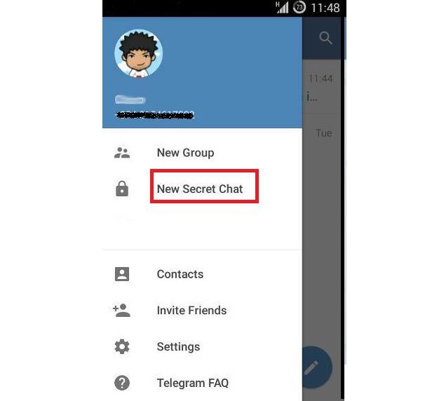 جلوگیری از گرفتن اسکرین شات در تلگرام