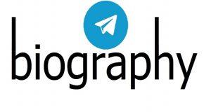نوشتن بیوگرافی در تلگرام