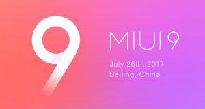 رابط کاربری MIUI 9