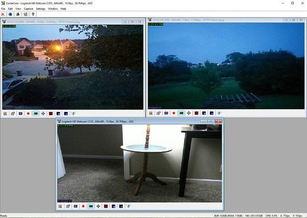 نظارت خانگی با استفاده از گوشی هوشمند قدیمی و برنامه ContaCam