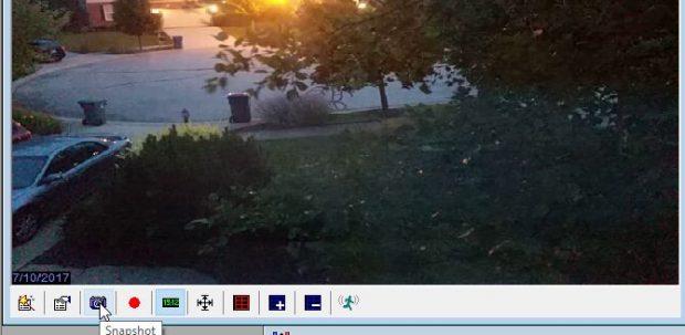 عکسبرداری از ویدئو در برنامه ContaCam