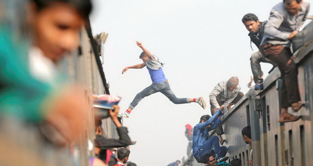 تصاویری دیدنی از شرایط سخت زندگی در شلوغ ترین شهرهای جهان