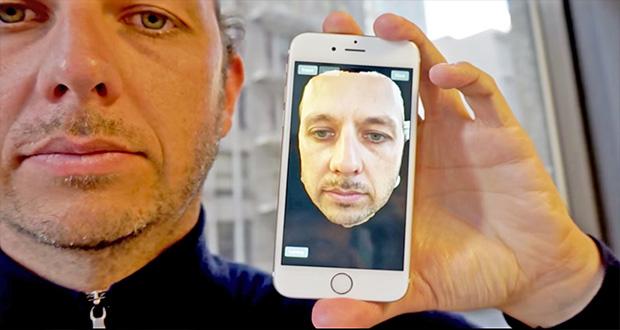 سیستم تشخیص چهره سه بعدی آیفون 8