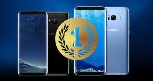 گلکسی اس 8 به عنوان بهترین گوشی موبایل سال در مراسم EISA انتخاب شد