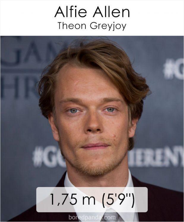 قد بازیگران سریال گیم آو ترونز چهقدر است؟ از تریون لنیستر تا هودور!
