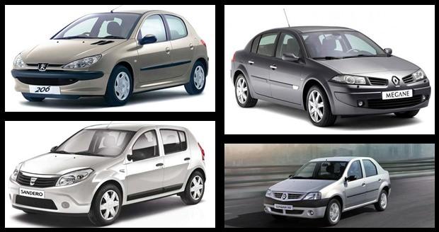 پرفروش ترین خودروهای کارکرده