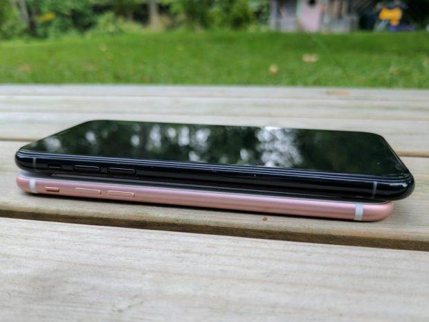 گوشی اپل آیفون 8 در دنیای واقعی