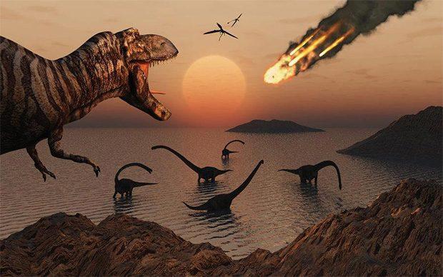 عامل انقراض نسل دایناسورها