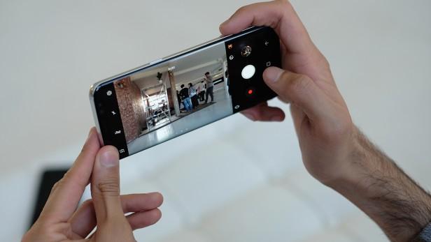 دوربین گوشی سامسونگ گلکسی S8