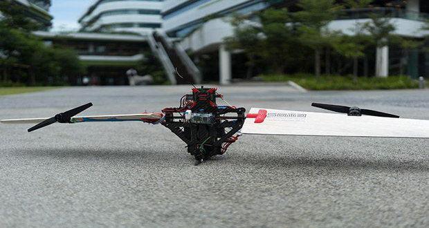پهپاد THOR ، وسیلهای شگفتانگیز و نوآورانه با قابلیت بهره بردن از حالتهای مختلف پرواز