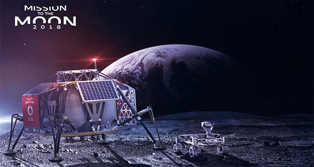 ایستگاه مخابراتی در کره ماه